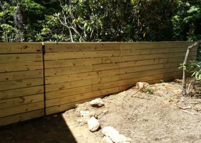 Horizontal Picket Fence