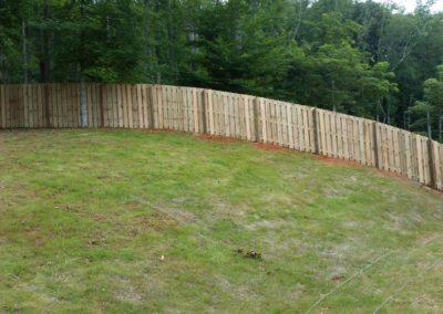 Six Foot Shadow Box Fence